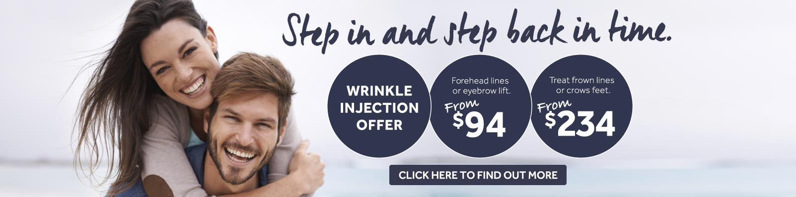 Sydney Cosmetic Injections Specials Banner