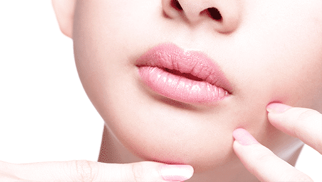 Cosmetic injections lip enhancements