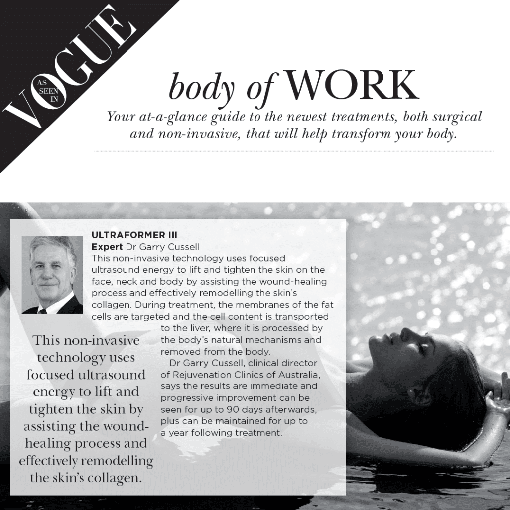 Vogue Body Of Work Article
