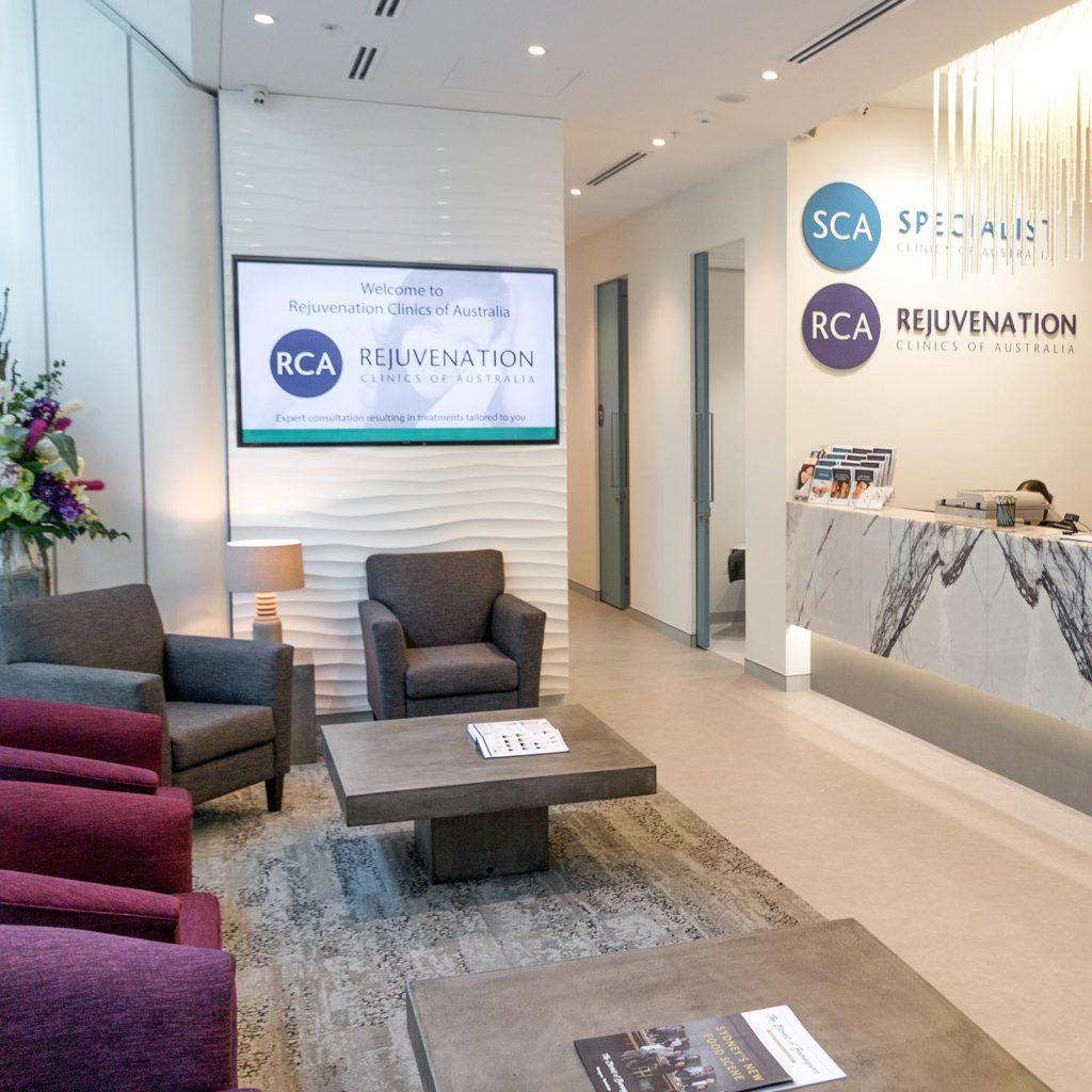 barangaroo clinic reception