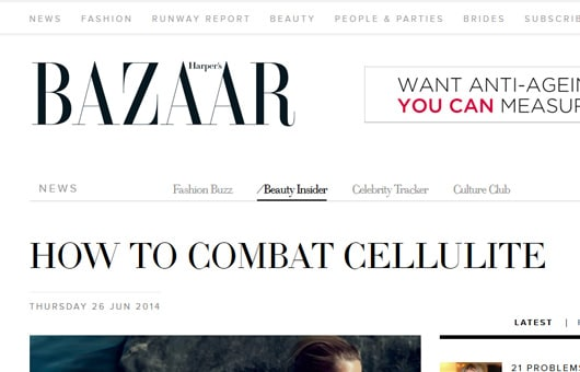 Rejuvenation Clinics of Australia featured on Bazaar