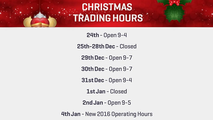 Christmas Opening Hours.Facial Rejuvenation Clinic Christmas Opening Hours