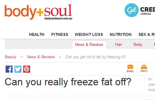 Rejuvenation Clinics of Australia featured on Body & Soul