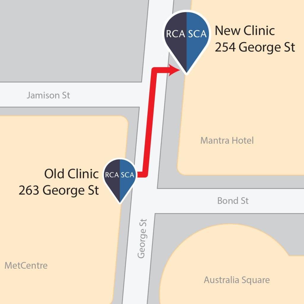 cbd new clinic map