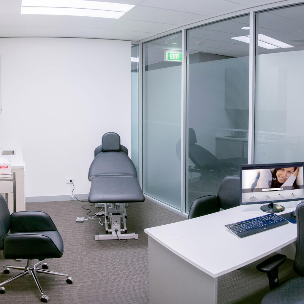 chatswood clinic consultation room