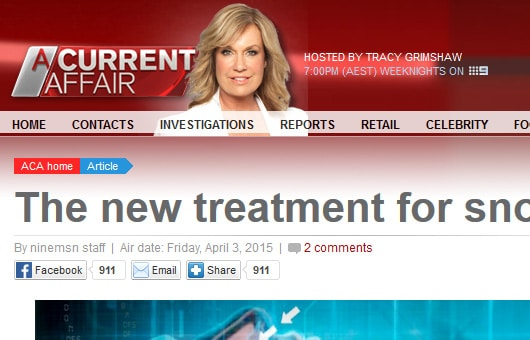 Rejuvenation Clinics of Australia featured on A Current Affair
