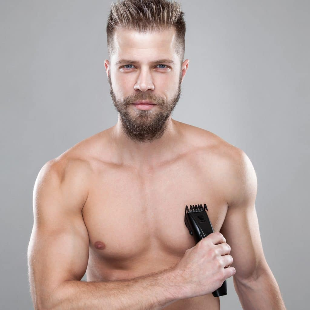 male beard trimmer
