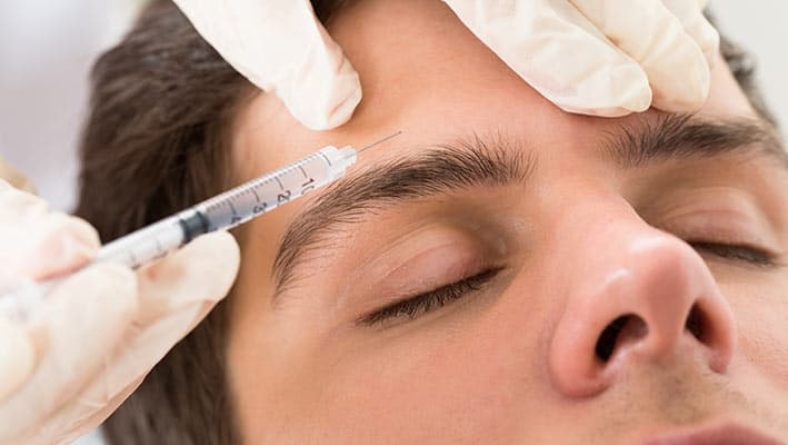 male wrinkle injections