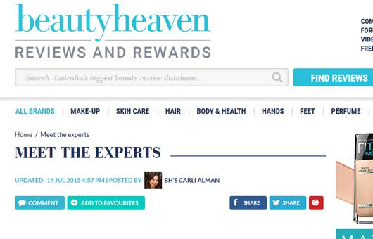 Rejuvenation Clinics of Australia featured on Beauty Heaven