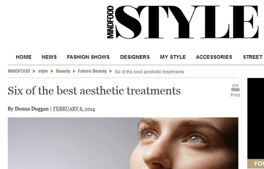 Rejuvenation Clinics of Australia featured on Style