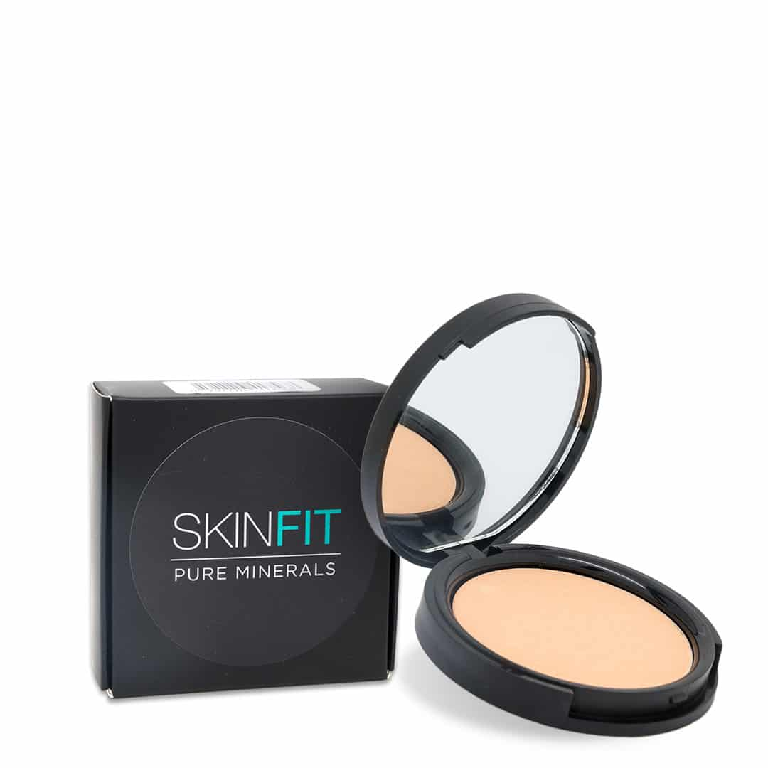 natural light mineral foundation box