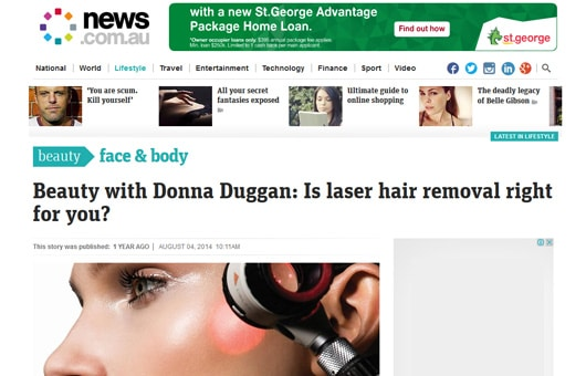 Rejuvenation Clinics of Australia featured on news.com.au