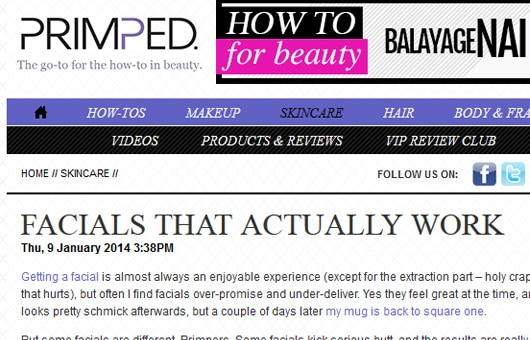 [rca] featured on Primped