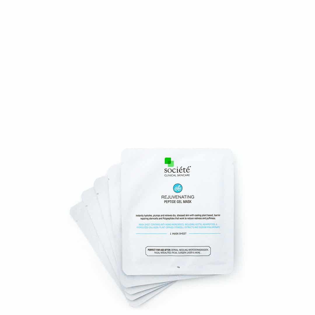 rejuvenating peptide gel mask sachets