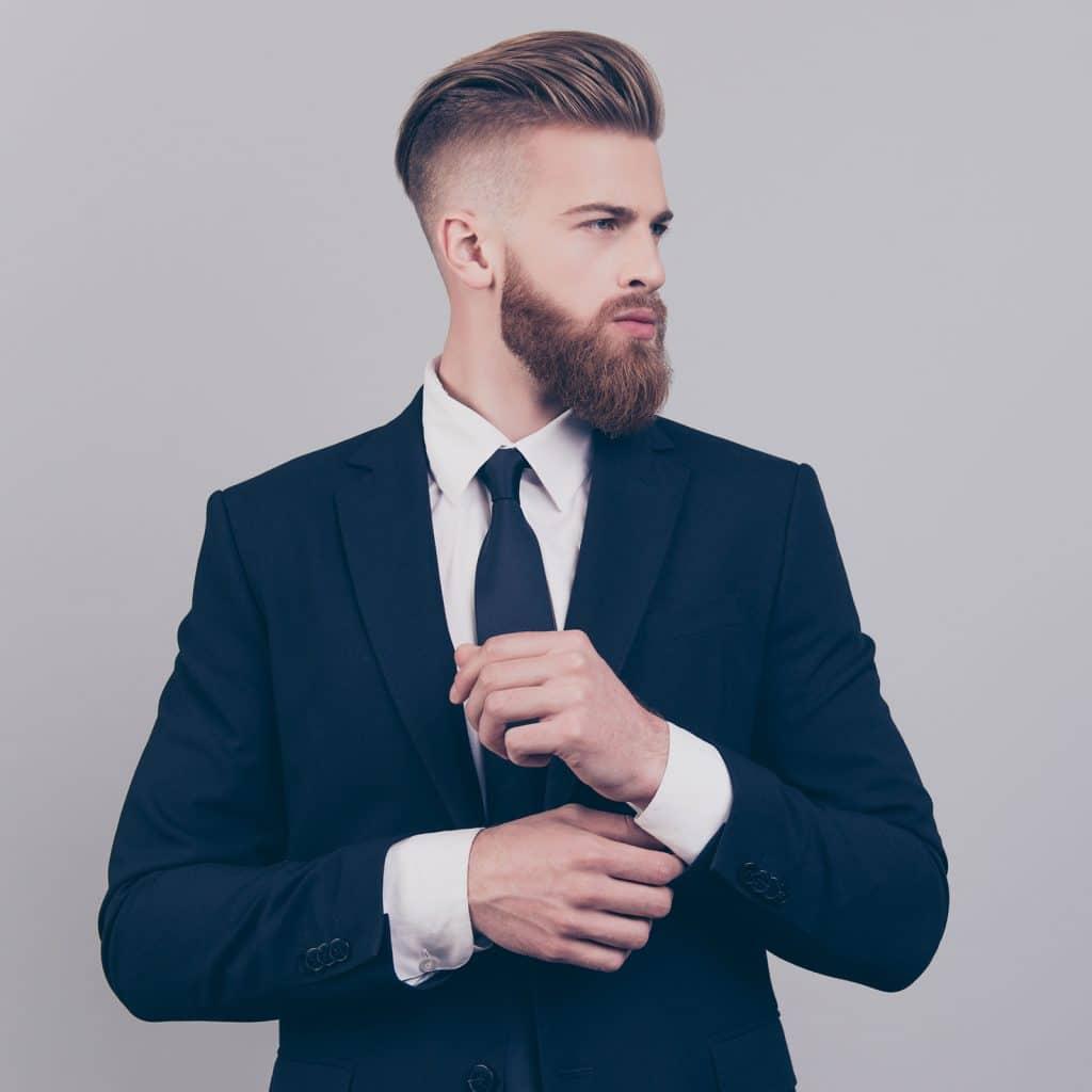 smart male suit