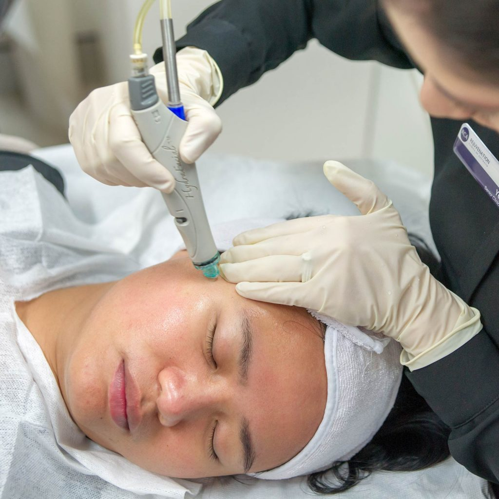treatment hydrafacial