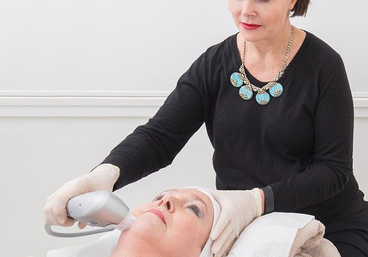 Ultrasound skin tightening treatment