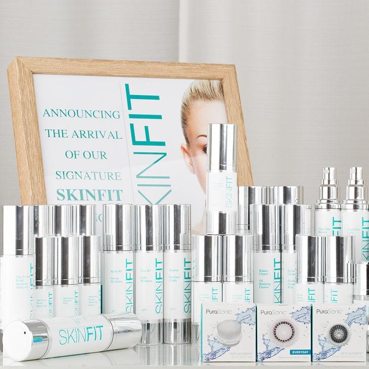 SkinFit cosmeceuticals skin care range