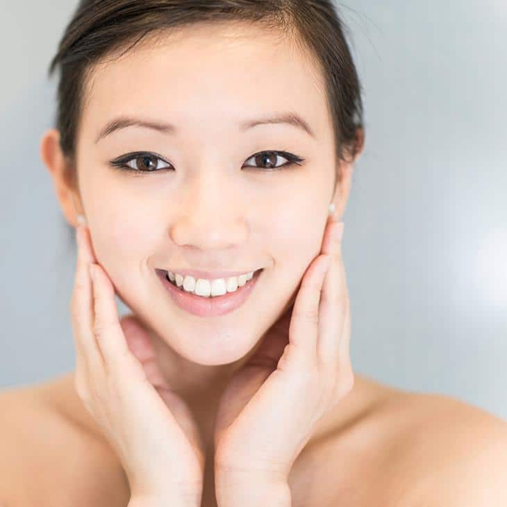 Fine lines and wrinkle treatment for Asian skin