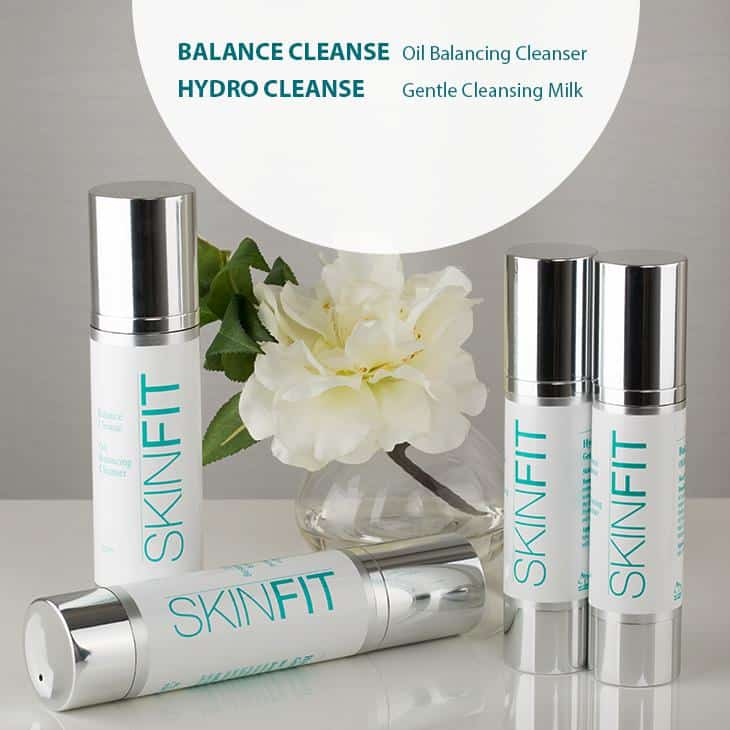 SkinFit deep cleanse products