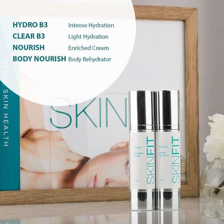 SkinFit moisturise product range