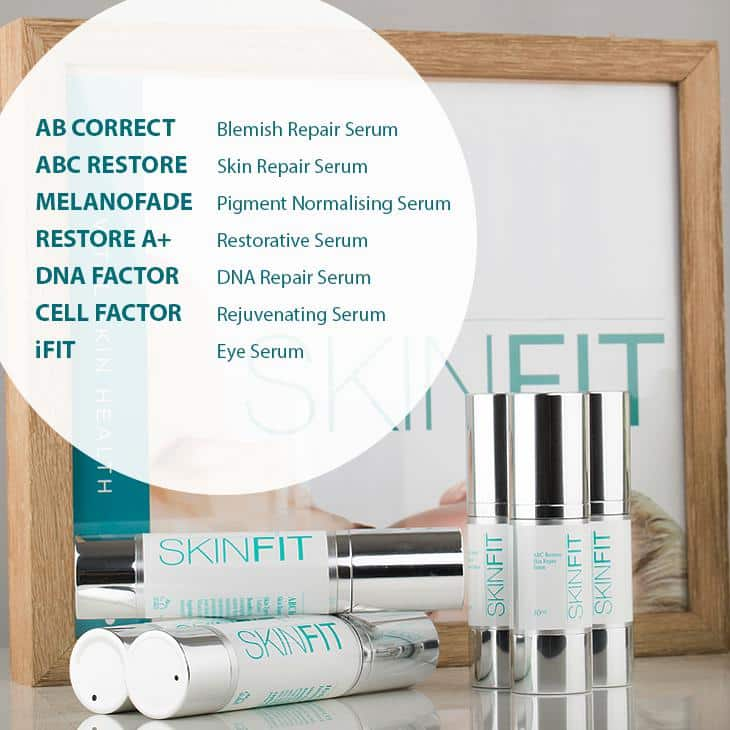 SkinFit revive product range
